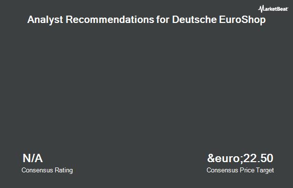 Analyst Recommendations for Deutsche EuroShop (ETR:DEQ)