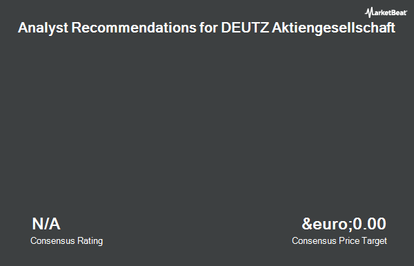 Analyst Recommendations for Deutz (ETR:DEZ)