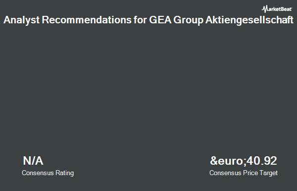 Analyst Recommendations for GEA Group Aktiengesellschaft (ETR:G1A)