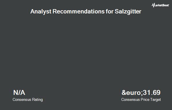 Analyst Recommendations for Salzgitter (ETR:SZG)