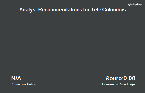 Analyst Recommendations for Tele Columbus (ETR:TC1)