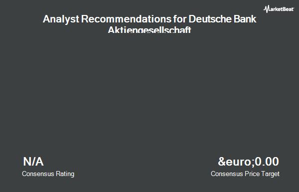 Analyst Recommendations for Deutsche Bank (FRA:DBK)
