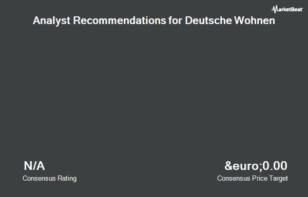 Analyst Recommendations for Deutsche Wohnen (FRA:DWNI)