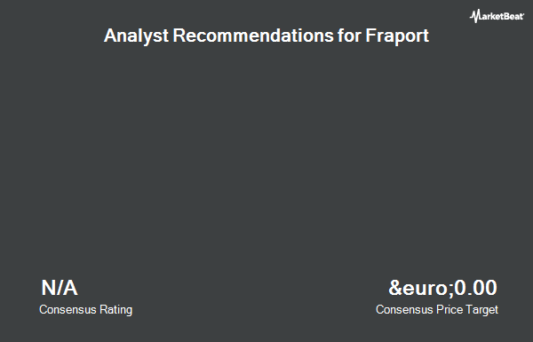 Analyst Recommendations for Fraport AG (FRA.F) (FRA:FRA)