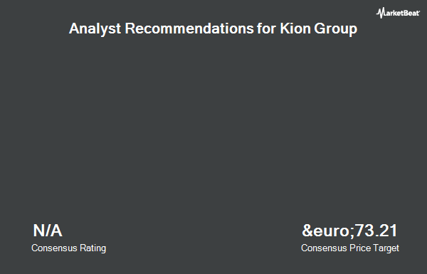 Analyst Recommendations for Kion Group (FRA:KGX)
