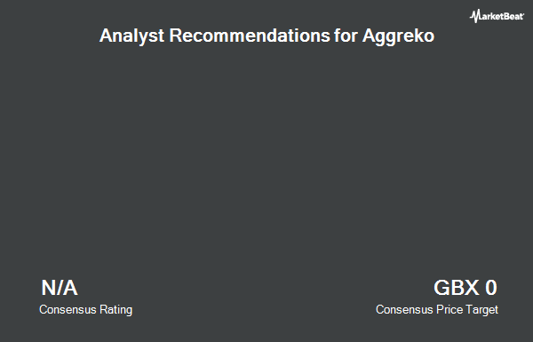 Analyst Recommendations for Aggreko (LON:AGK)
