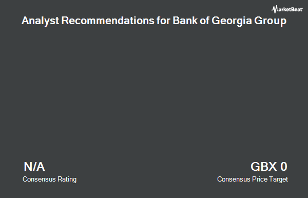 Analyst Recommendations for Bank of Georgia Group (LON:BGEO)