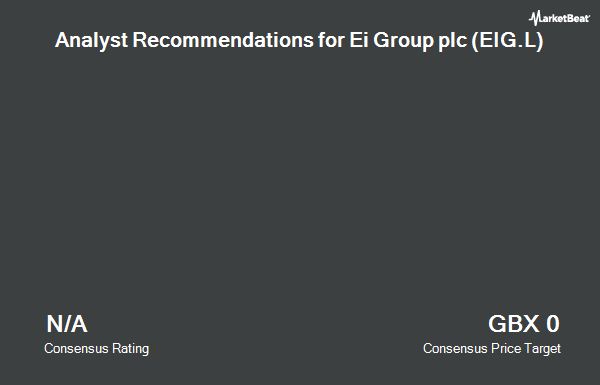 Analyst Recommendations for EI Group (LON:EIG)
