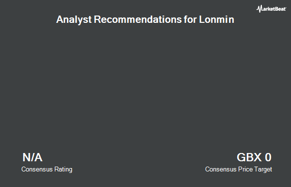 Analyst Recommendations for Lonmin (LON:LMI)