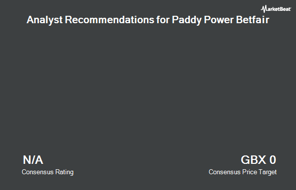 Analyst Recommendations for Paddy Power Betfair (LON:PPB)