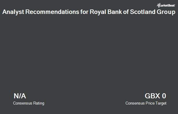 Analyst Recommendations for Royal Bank of Scotland Group (LON:RBS)