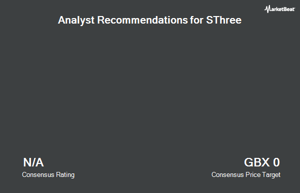 Analyst Recommendations for SThree (LON:STHR)