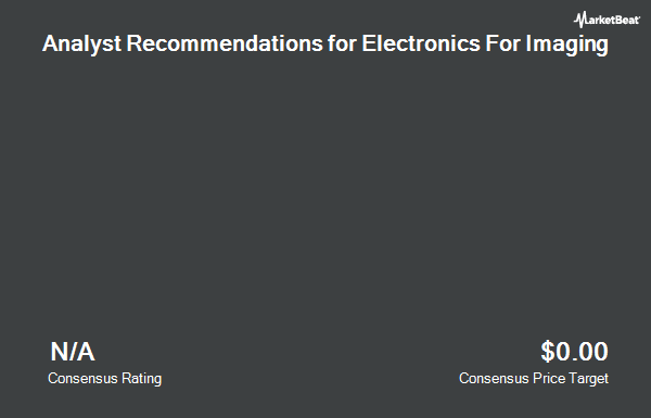 Analyst Recommendations for Electronics For Imaging (NASDAQ:EFII)