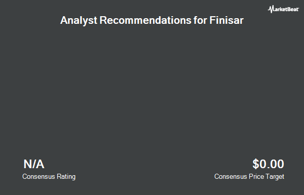 Analyst Recommendations for Finisar (NASDAQ:FNSR)