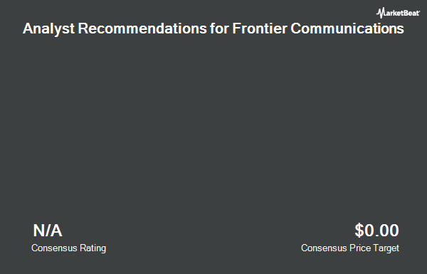 Analyst Recommendations for Frontier Communications (NASDAQ:FTR)