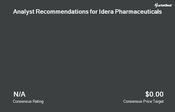 Analyst Recommendations for Idera Pharmaceuticals (NASDAQ:IDRA)