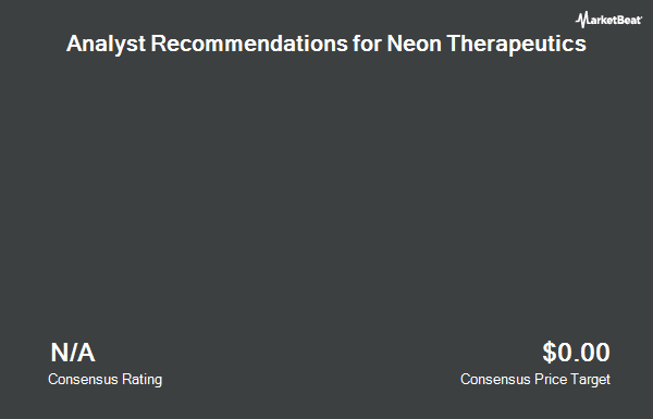 Analyst Recommendations for Neon Therapeutics (NASDAQ:NTGN)