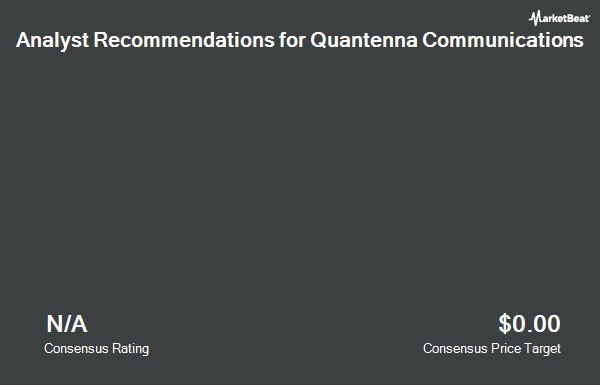 Analyst Recommendations for Quantenna Communications (NASDAQ:QTNA)