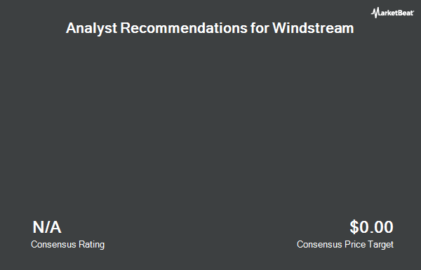 Analyst Recommendations for Windstream (NASDAQ:WIN)
