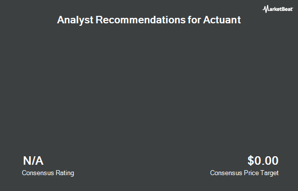 Analyst Recommendations for Actuant (NYSE:ATU)