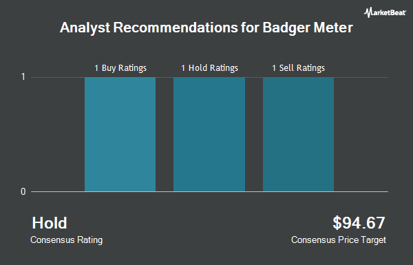 Analyst Recommendations for Badger Meter (NYSE:BMI)