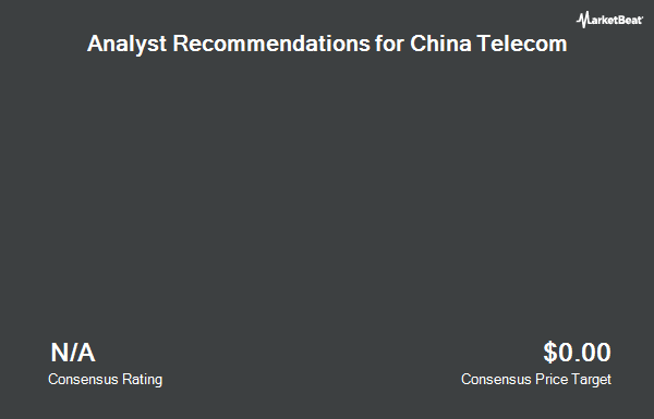 Analyst Recommendations for China Telecom (NYSE:CHA)