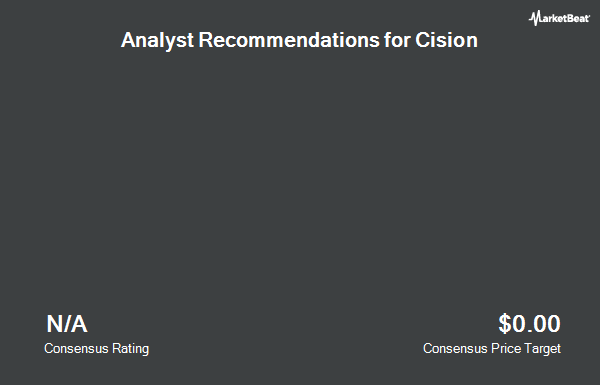 Analyst Recommendations for Cision (NYSE:CISN)