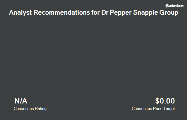 Dr Pepper Snapple Group Inc Dps Receives 12155 Consensus Price