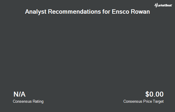 Analyst Recommendations for Ensco Rowan (NYSE:ESV)