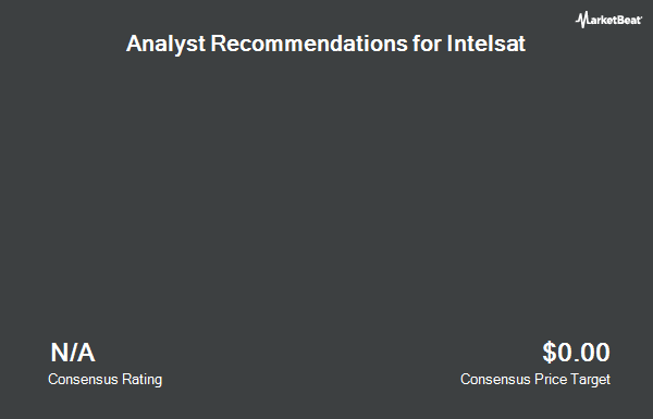 Analyst Recommendations for Intelsat (NYSE:I)