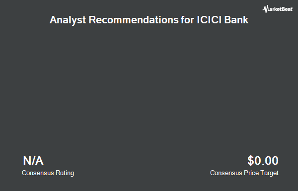 Analyst Recommendations for ICICI Bank (NYSE:IBN)