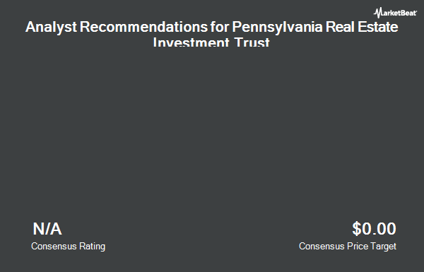 Analyst Recommendations for Pennsylvania R.E.I.T. (NYSE:PEI)
