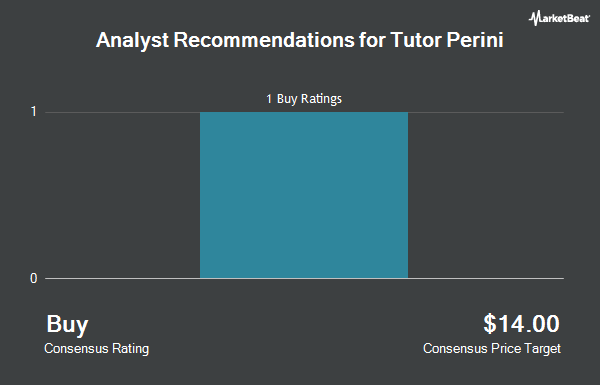 Analyst Recommendations for Tutor Perini (NYSE:TPC)
