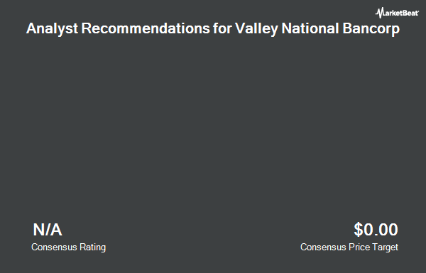 Analyst Recommendations for Valley National Bancorp (NYSE:VLY)