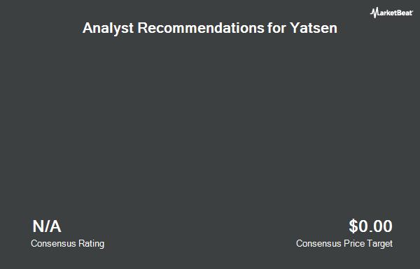 Analyst Recommendations for Yatsen (NYSE:YSG)