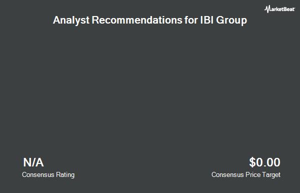 Analyst Recommendations for IBI Group (OTCMKTS:IBIBF)