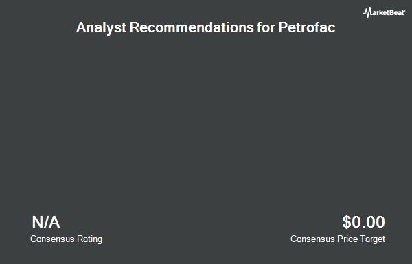 Analyst Recommendations for Petrofac (OTCMKTS:POFCF)