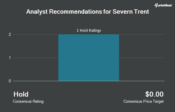 Analyst Recommendations for Severn Trent (OTCMKTS:SVTRF)