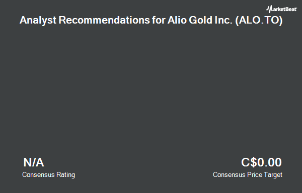 Analyst Recommendations for Alio Gold (TSE:ALO)