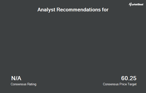 Analyst Recommendations for CanWel Building Materials Group (TSE:CWX)