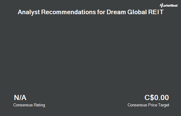 Analyst Recommendations for Dream Global REIT (TSE:DRG.UN)