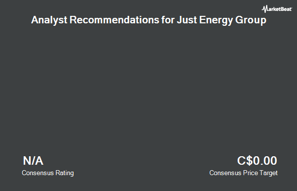 Analyst Recommendations for Just Energy Group (TSE:JE)