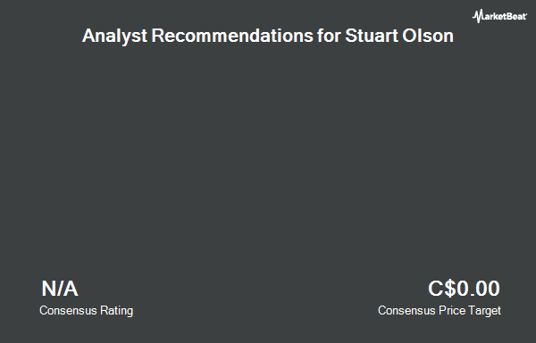 Analyst Recommendations for Stuart Olson (TSE:SOX)