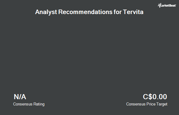 Analyst Recommendations for Tervita (TSE:TEV)