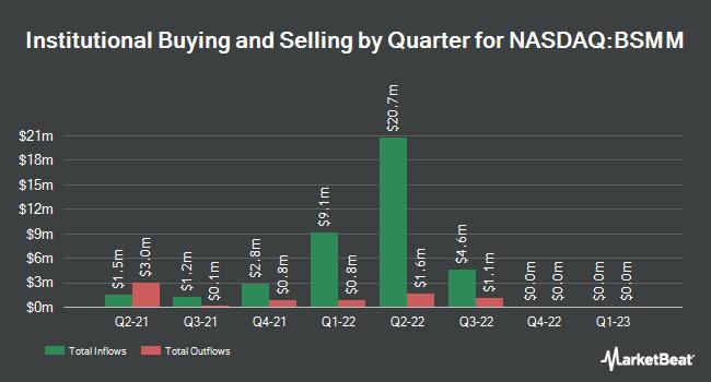 Institutional Ownership by Quarter for Invesco BulletShares (R) 2022 Municipal Bond ETF (NASDAQ:BSMM)