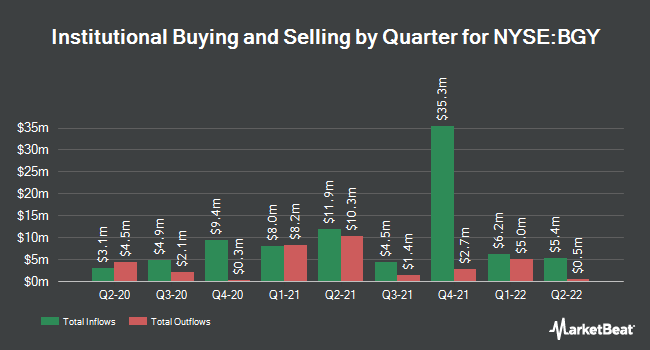 Institutional Ownership by Quarter for BlackRock International Growth and Inco (NYSE:BGY)