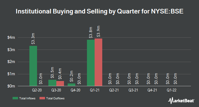 Institutional Ownership by Quarter for BlackRock New York Insured Municipal (NYSE:BSE)