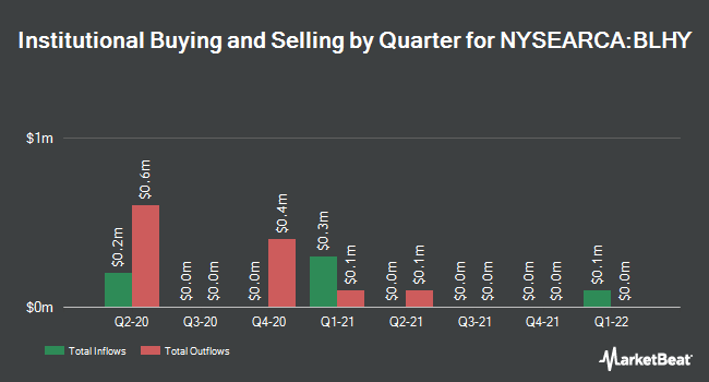 Institutional Ownership by Quarter for Virtus Newfleet Dynamic Credit ETF (NYSEARCA:BLHY)