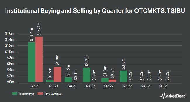 Institutional Ownership by Quarter for Tishman Speyer Innovation Corp. II (OTCMKTS:TSIBU)