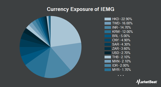 Currency Exposure of iShares Core MSCI Emerging Markets ETF (NYSEARCA:IEMG)